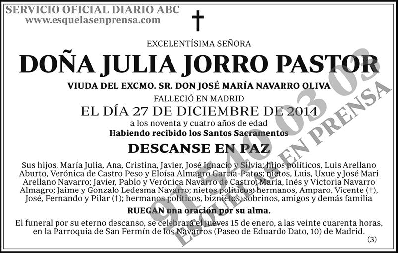 Julia Jorro Pastor